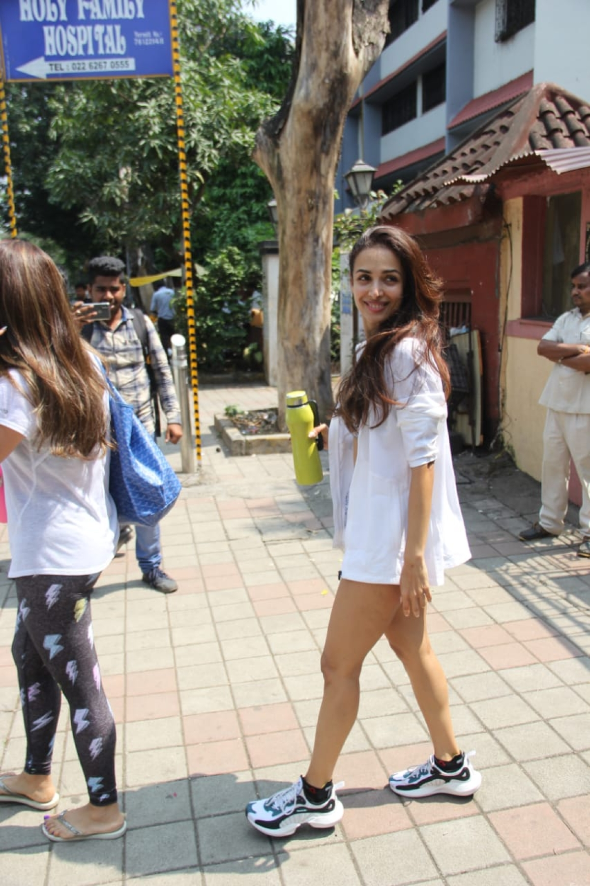Malaika Arora spotted at Diva Yoga in Bandra