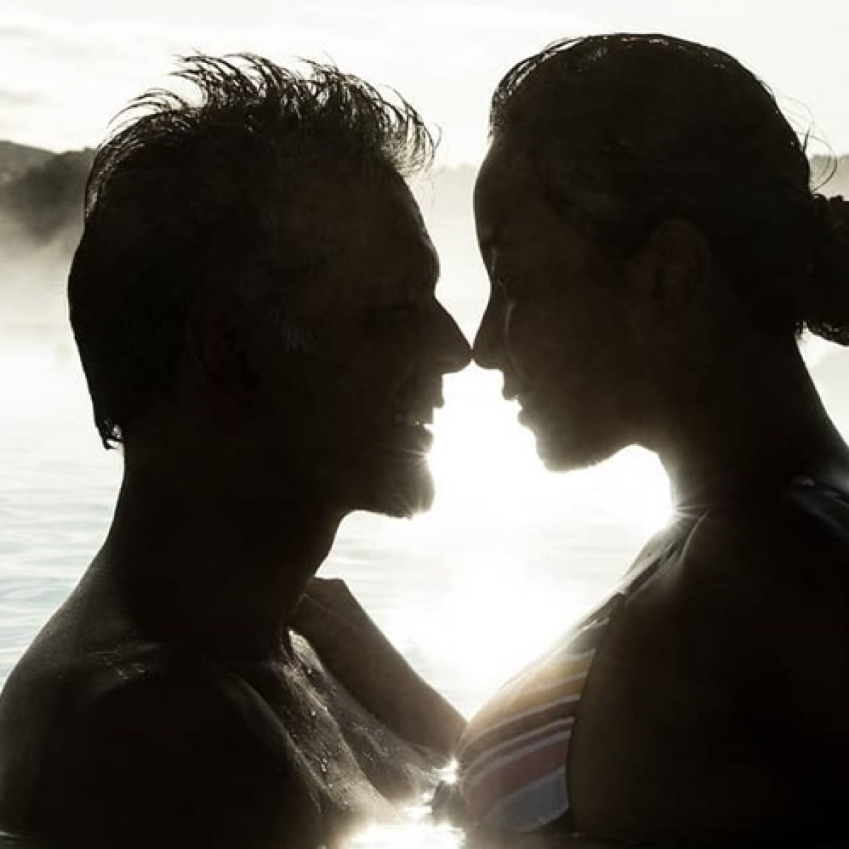 Milind Soman getting 'incredibly' romantic with Ankita in blue lagoon