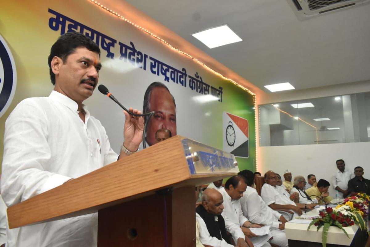 Dhananjay Munde visits Mumbai hospital after complaining of stomach pain