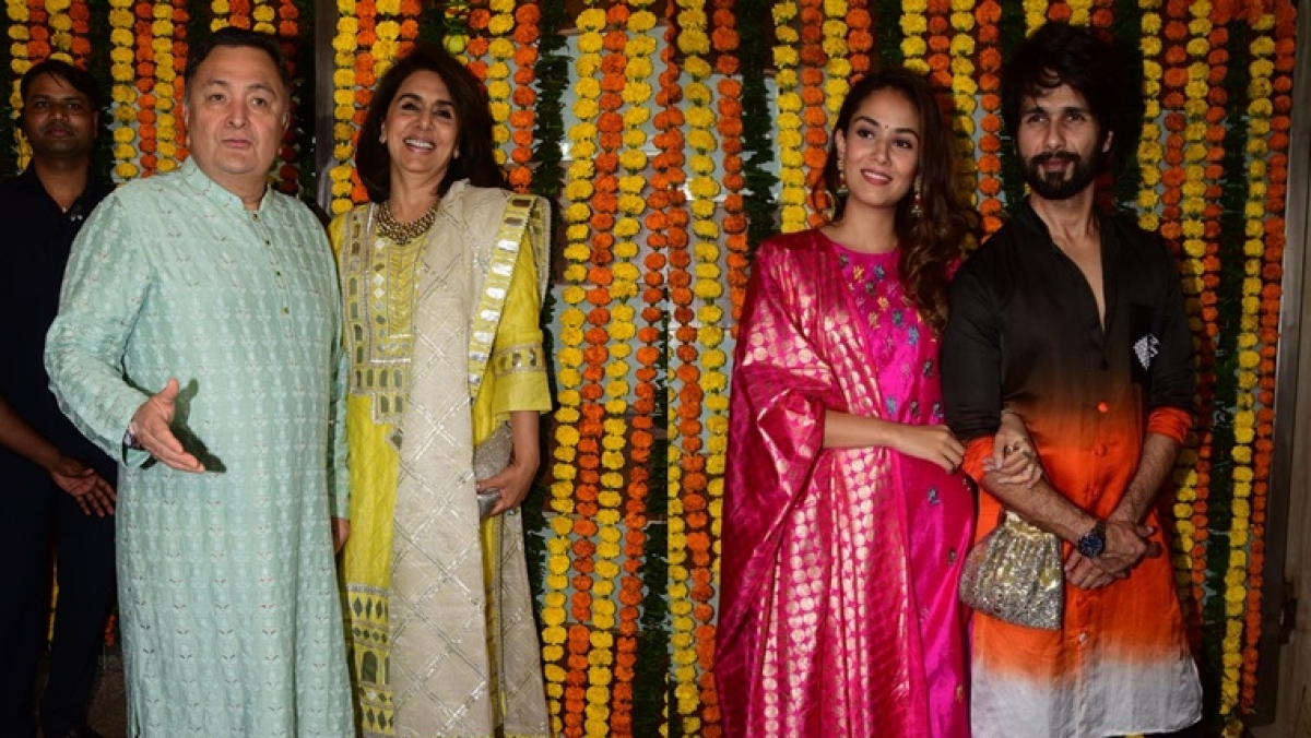 Ekta Kapoor Diwali Bash: Shahid-Mira, Rishi-Neetu and other B-town celebs in attendance