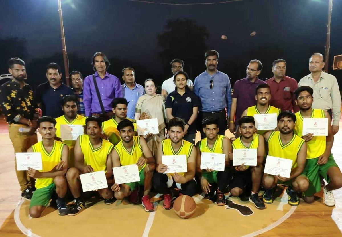 Ujjain: Basketball Tournee: Ujjain beats Shajapur