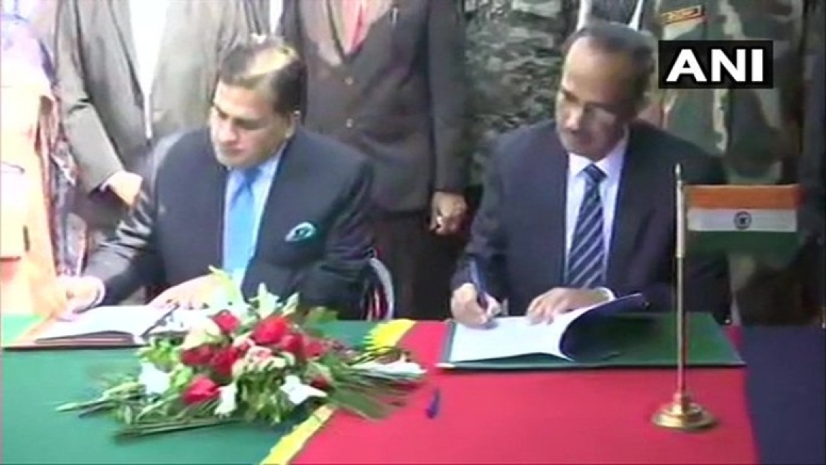 India, Pakistan sign agreement to operationalise Kartarpur Corridor
