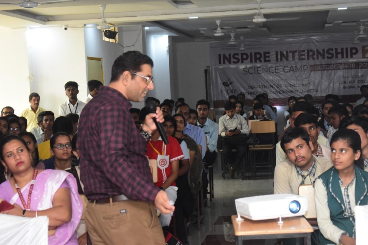 Bhopal: Inspire Internship Programme concludes