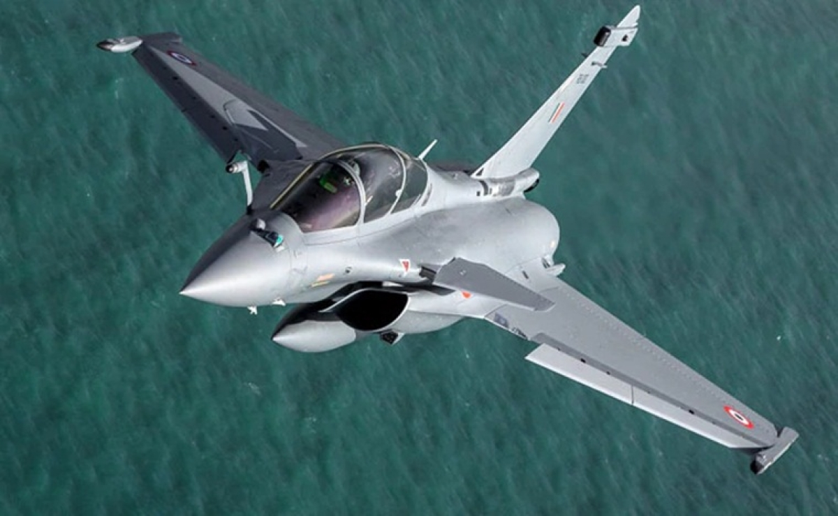 Dassault Aviation releases pictures of India's second Rafale jet with tail number RB-002