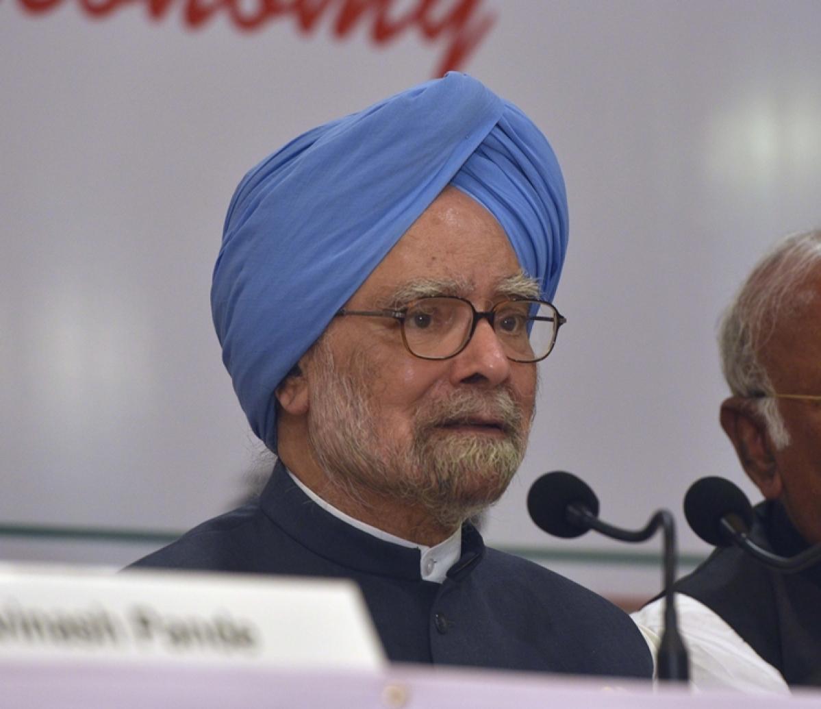 Senior Congress leader Manmohan Singh