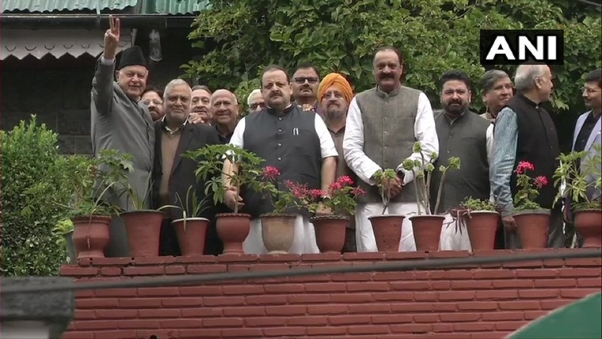15-member NC delegation meets Farooq Abdullah in Srinagar, clarifies stand on Article 370
