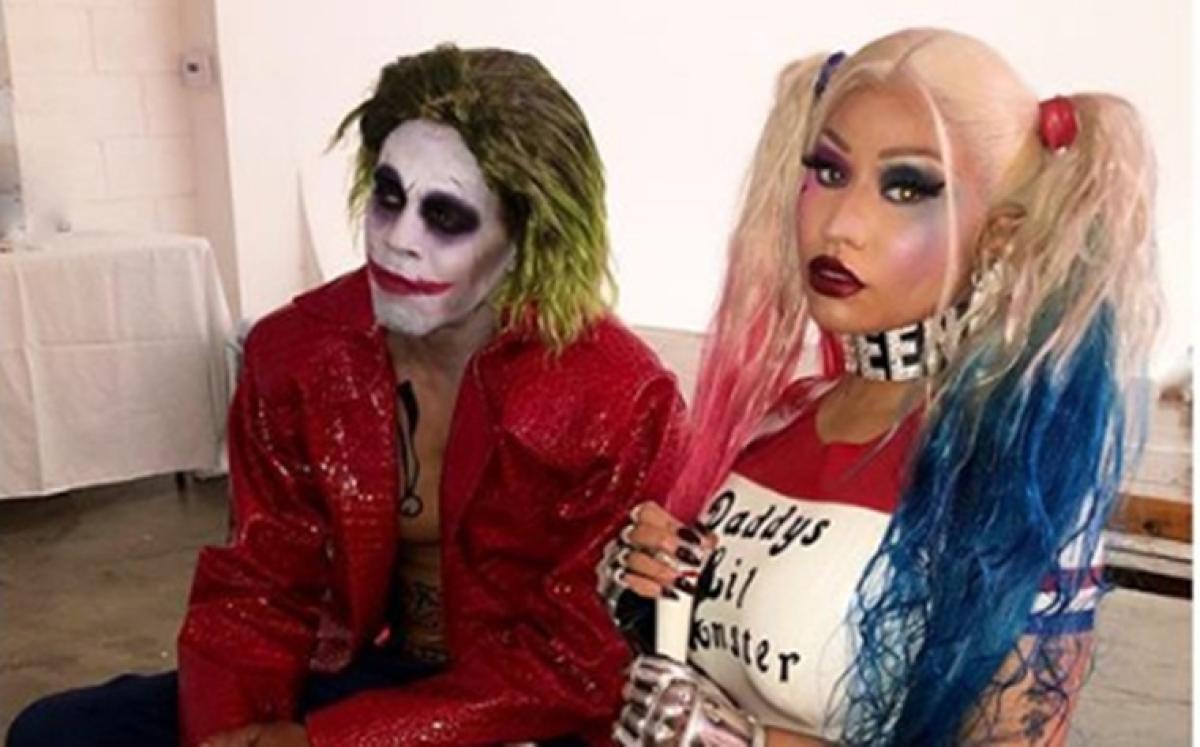 Nicki Minaj, Kenneth Petty turn Joker and Harley Quinn this Halloween