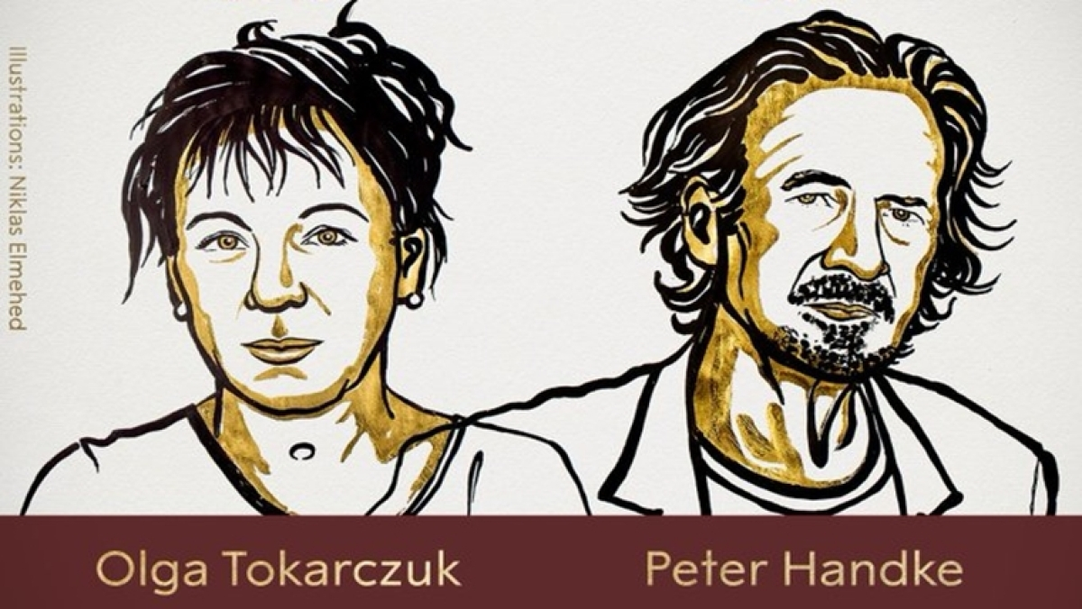 Olga Tokarczuk and Peter Handke awarded 2018 and 2019 Nobel Prize for Literature