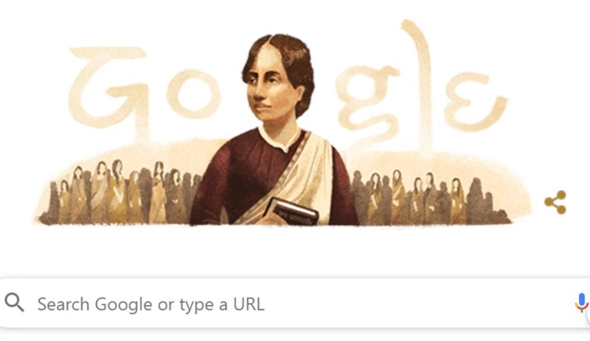 Google doodle celebrates 155th birthday of activist Kamini Roy