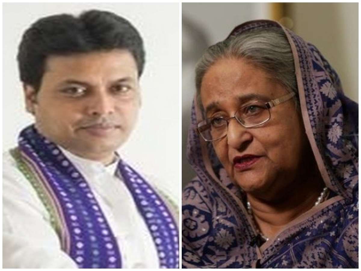 Tripura CM Biplab Kumar Deb meets Sheikh Hasina, discusses range of issues including direct flight between Dhaka, Agartala