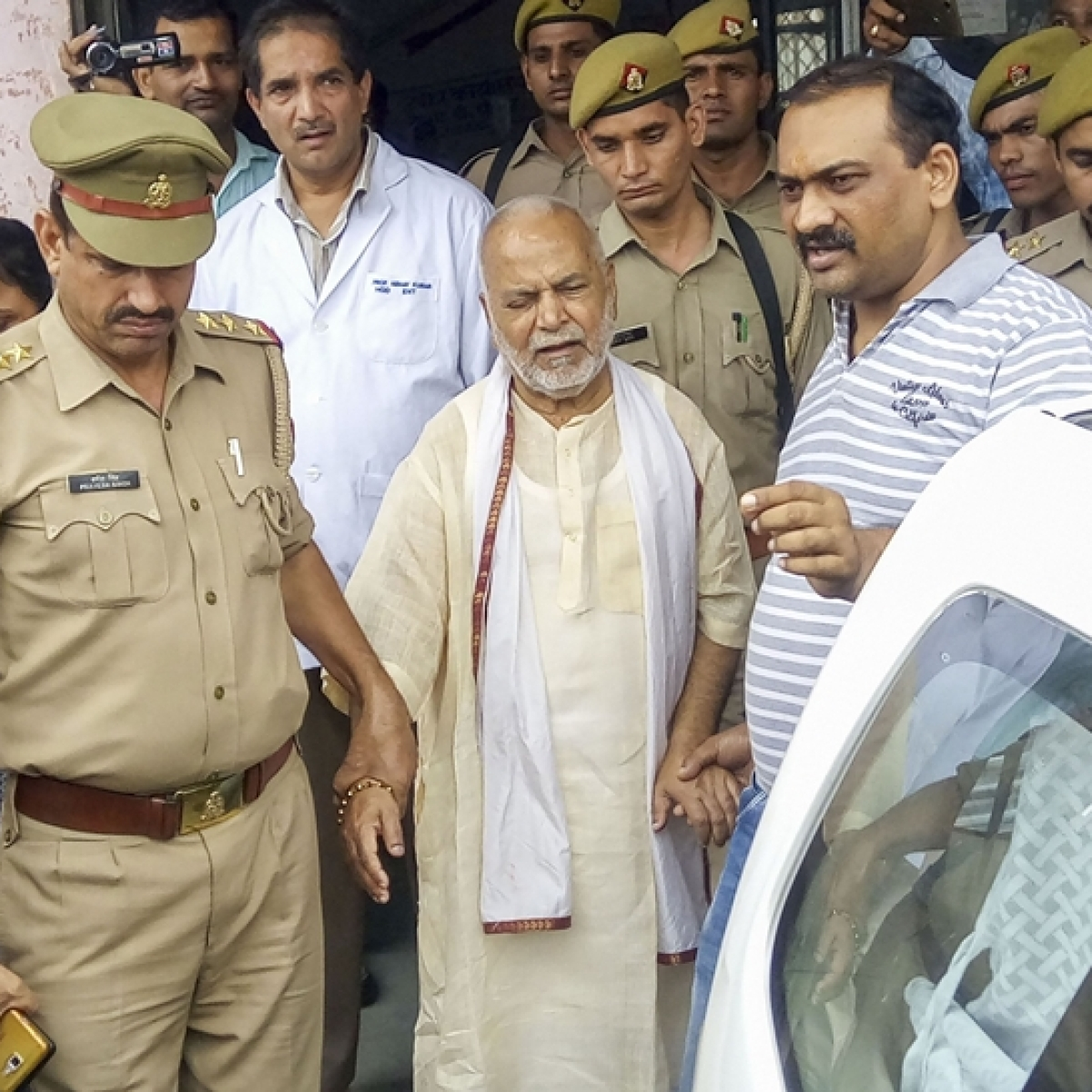 Chinmayanand discharged from hospital; sent to Shahjahanpur jail
