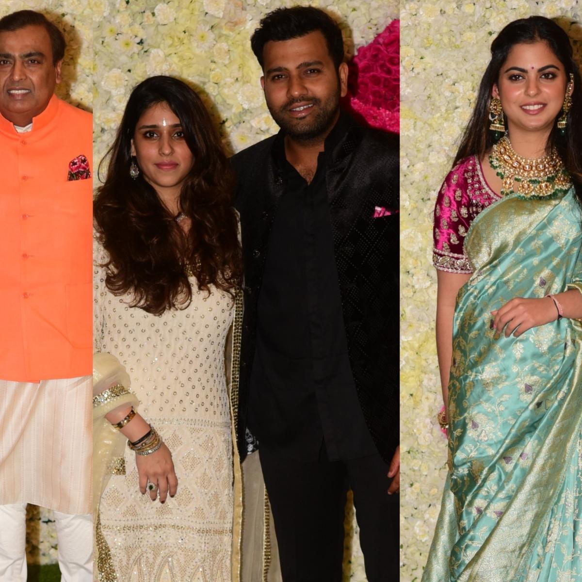 Ambani Diwali Bash: Rohit Sharma, Zaheer Khan and other celebs in attendance