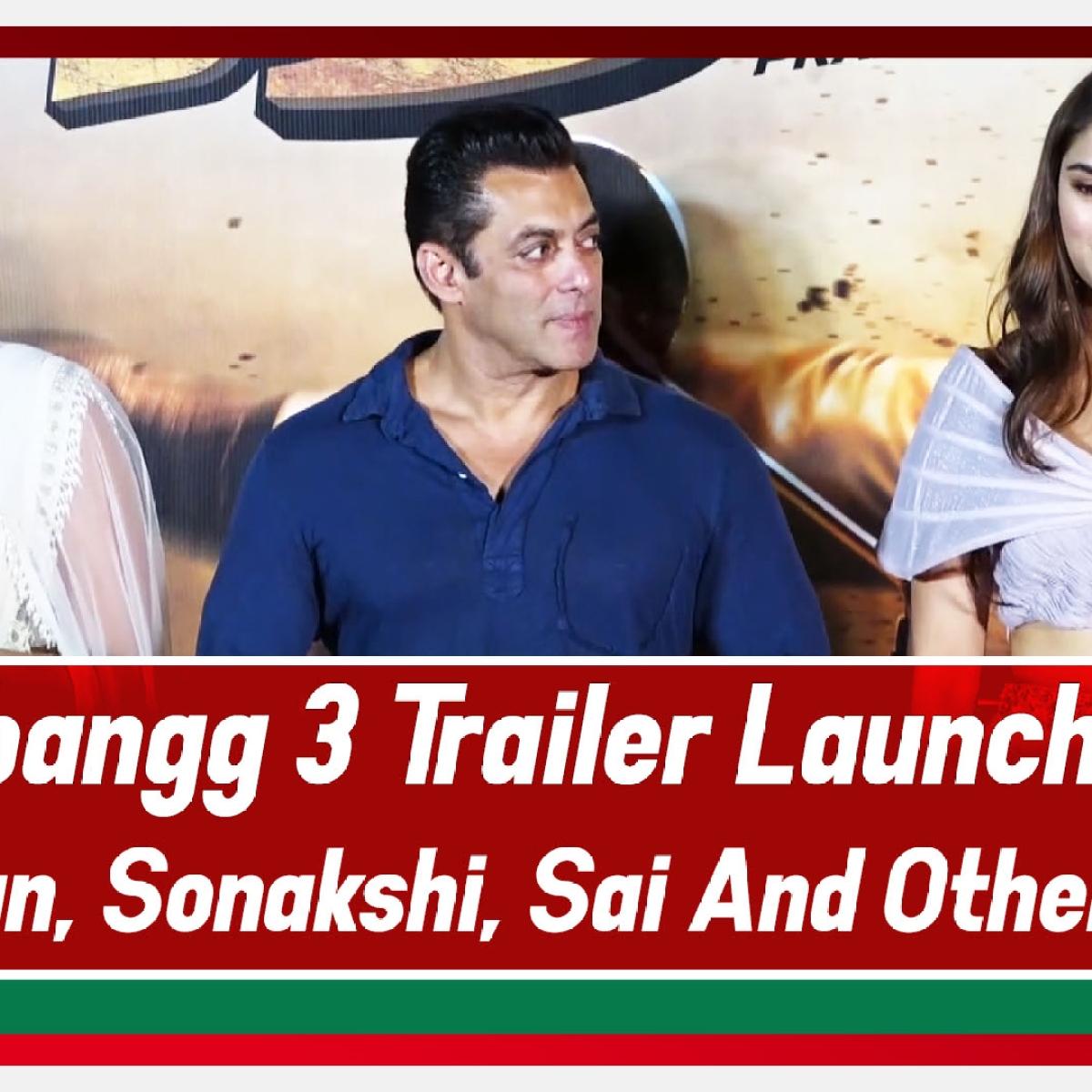 Dabangg 3 Official Trailer Launch | Salman Khan | Sonakshi | Sai and Prabhu deva And Others