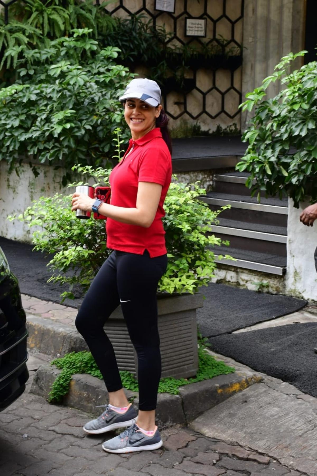 Genelia Deshmukh at gym