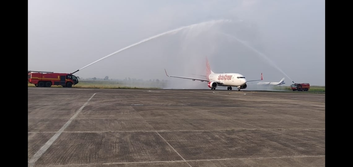 Indore: Cargo service starts from city airport