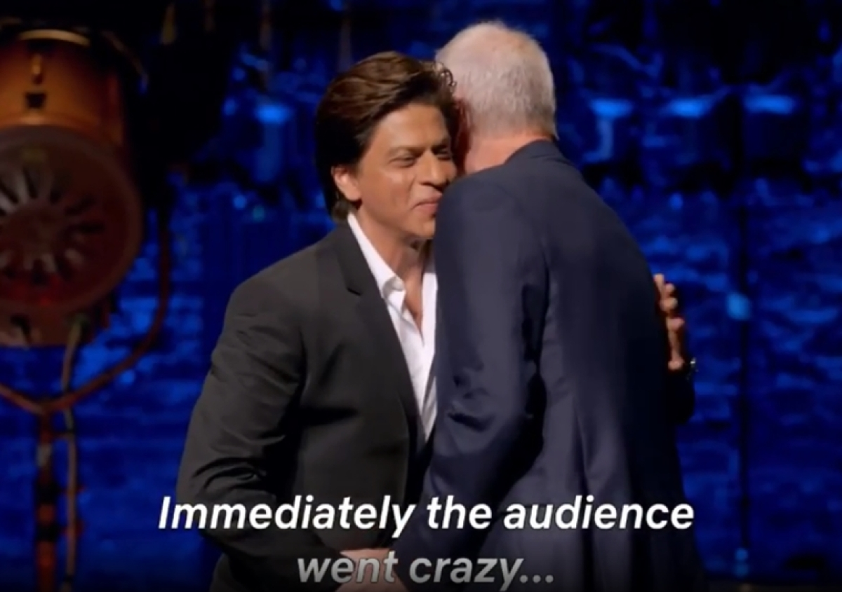 Most popular film star in the world: Twitter fans can't wait for Oct 25 so they can watch SRK on Letterman