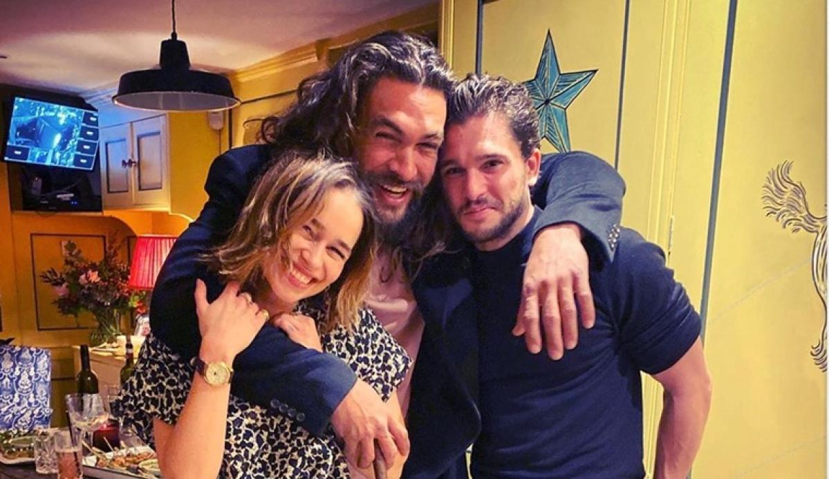 Emilia Clarke celebrates 33rd birthday with 'Game of Thrones' stars