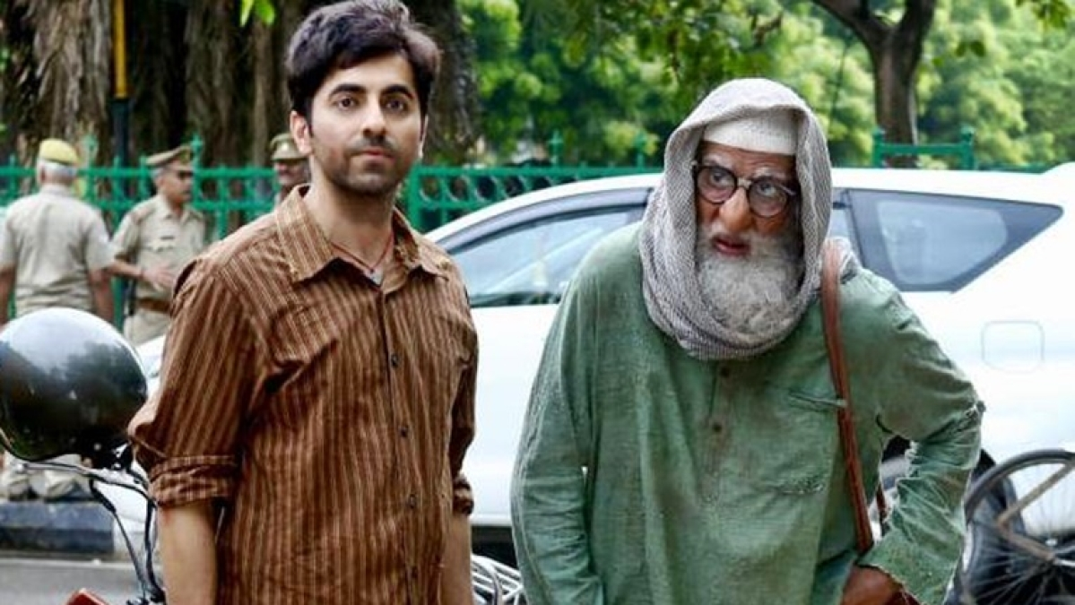 Ayushmann Khurrana shares first glimpse of 'Gulabo Sitabo' featuring Amitabh Bachchan