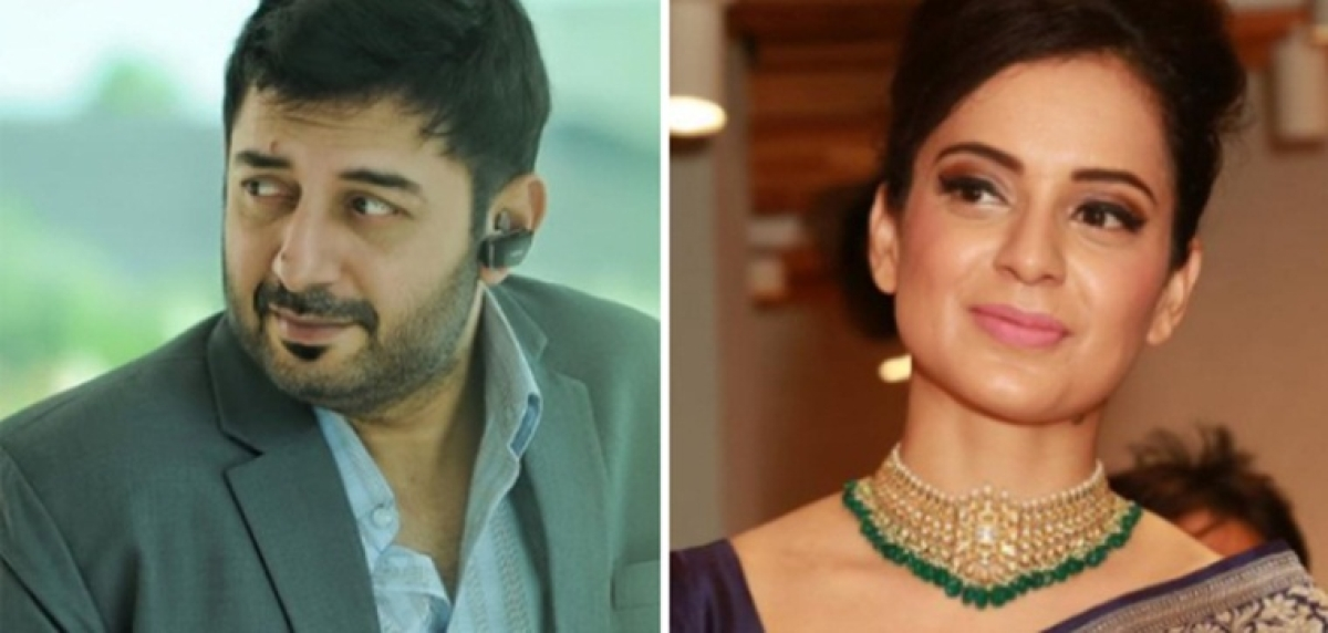 Arvind Swamy to play MG Ramachandran in Kangana Ranaut's 'Thalaivi'