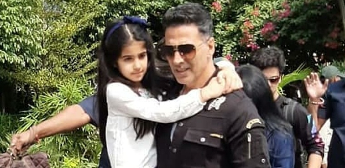 Akshay Kumar's daughter definitely had more fun on the train than the Housefull 4 crew - find out how