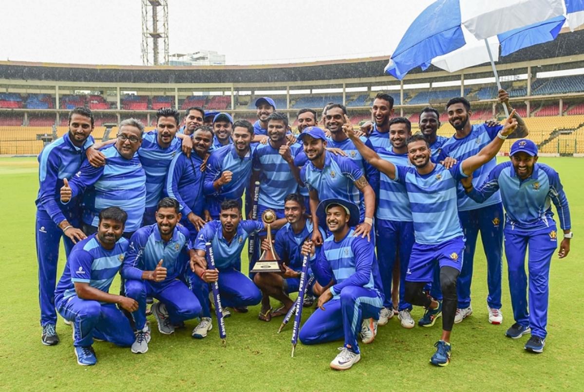KL Rahul, Abhimanyu Mithun shine; help Karnataka lift Vijay Hazare Trophy