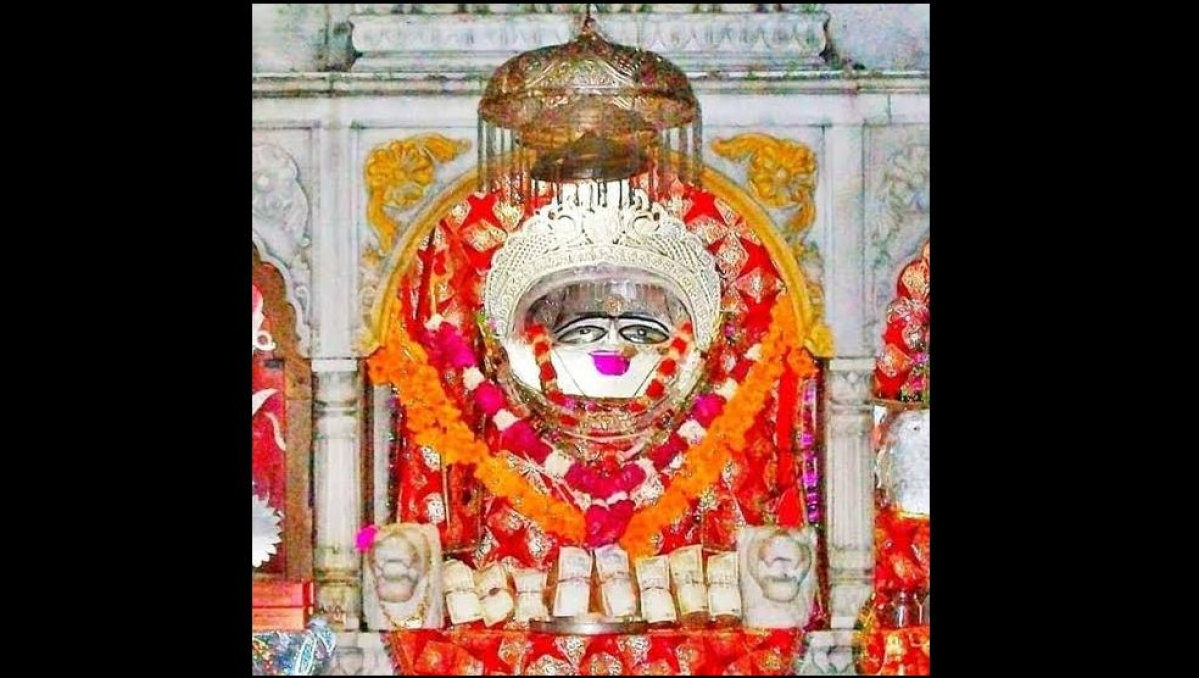 Chauth Mata located in Ujjain Mahakal Temple