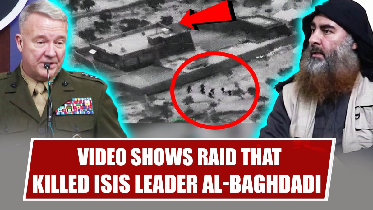 Watch Video- US Forces Killed ISIS Leader Al Baghdadi