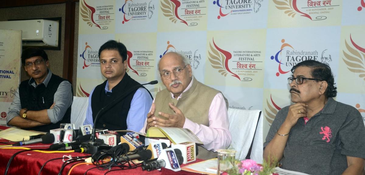 Bhopal: Vishwa Rang; 1st Indian festival of literature and arts on Nov 4