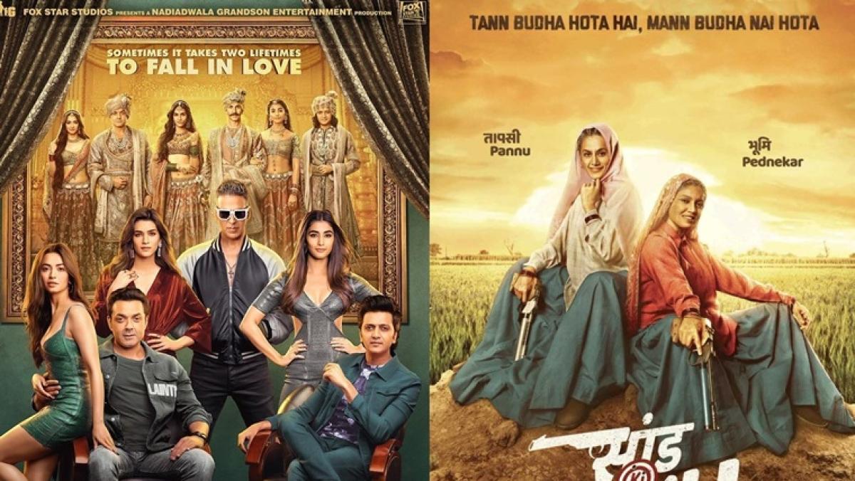 'Housefull 4' to 'Saand Ki Aankh': Bollywood movies to watch this Diwali