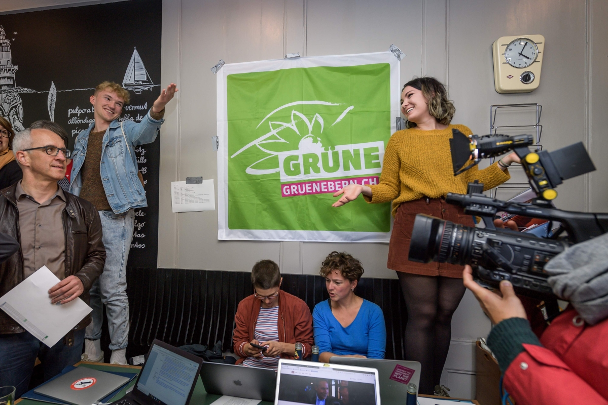 Green gains in Switzerland elections
