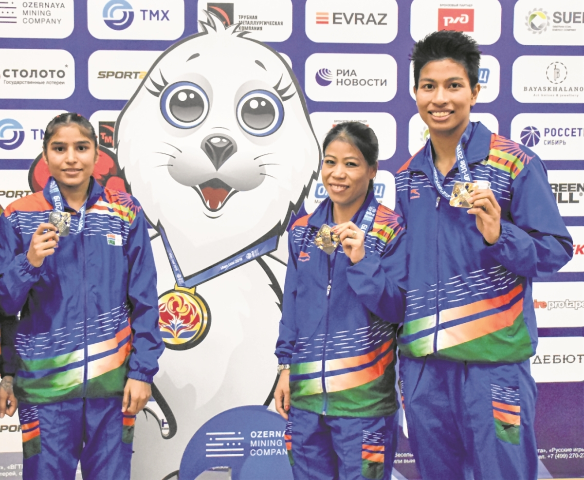 India finish with 4 medals but no gold as Manju falls short in World Boxing Championship final