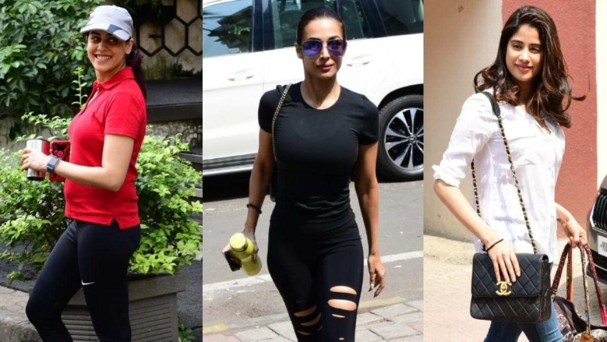 Janhvi Kapoor, Malaika Arora, Genelia Deshmukh have no excuse to bunk the gym today