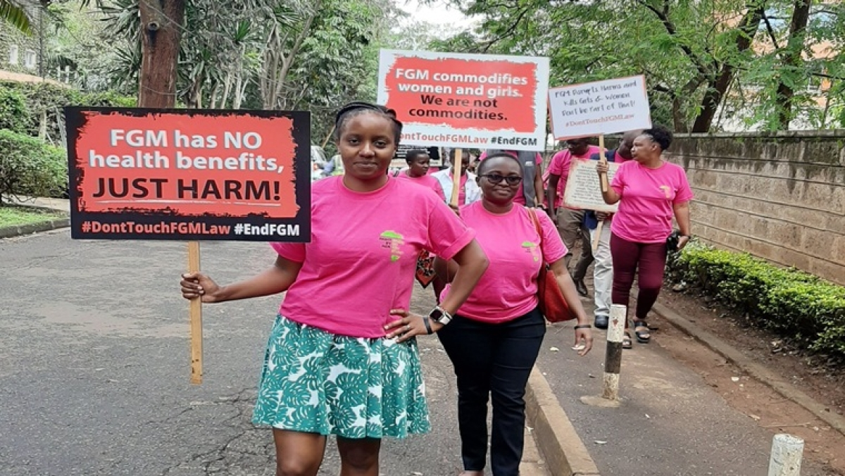 Kenyan women doctor goes to court to decriminalize FGM, says it's an age-old tradition