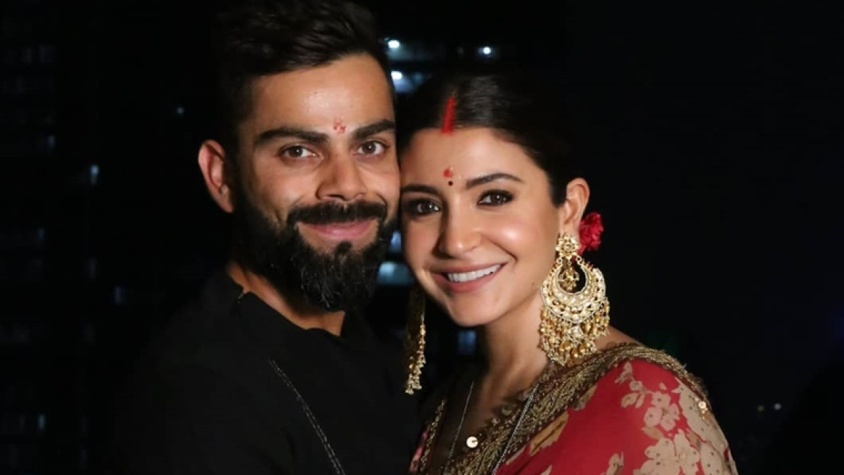 Virat turns fasting partner for wife Anushka during Karva Chauth