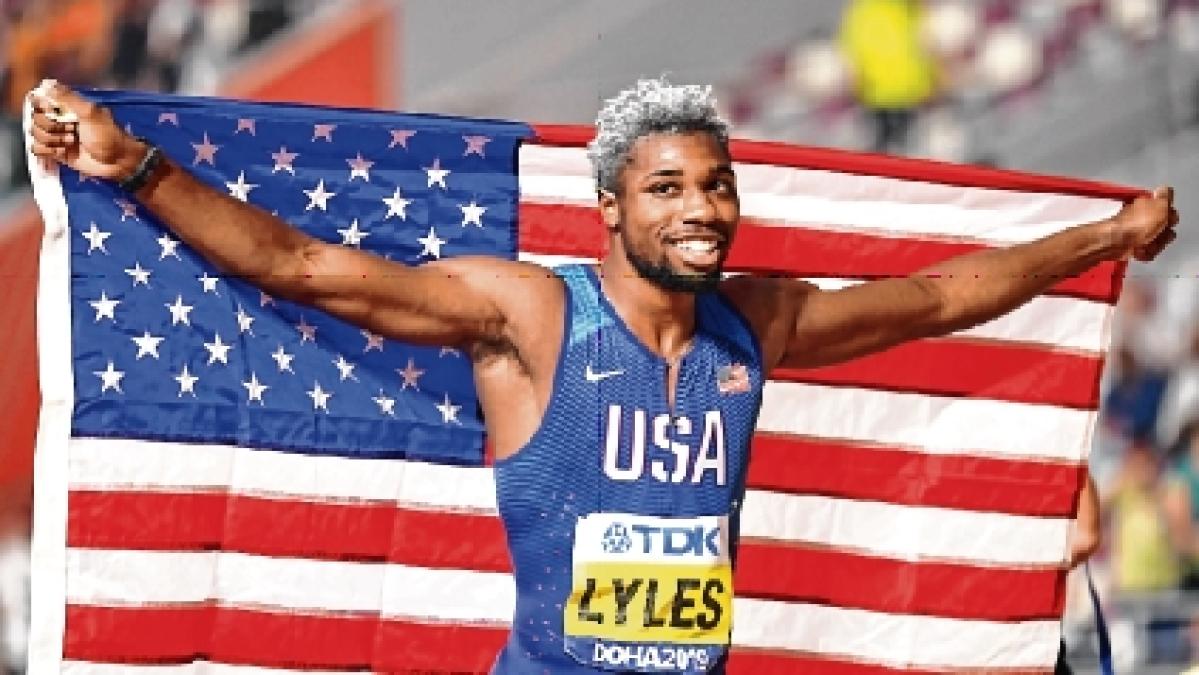 I'm not the new Bolt I am me: Noah Lyles