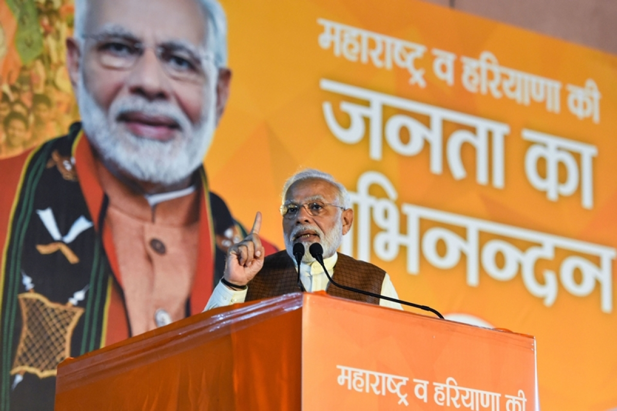 Ahead of Ayodhya verdict, PM Modi lauds civil society role in 2010