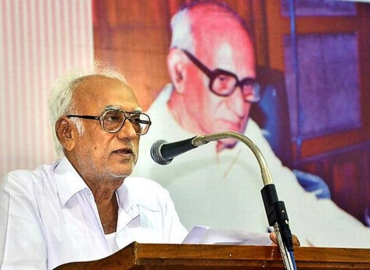 Political leaders condole death of veteran journalist Raghavachari