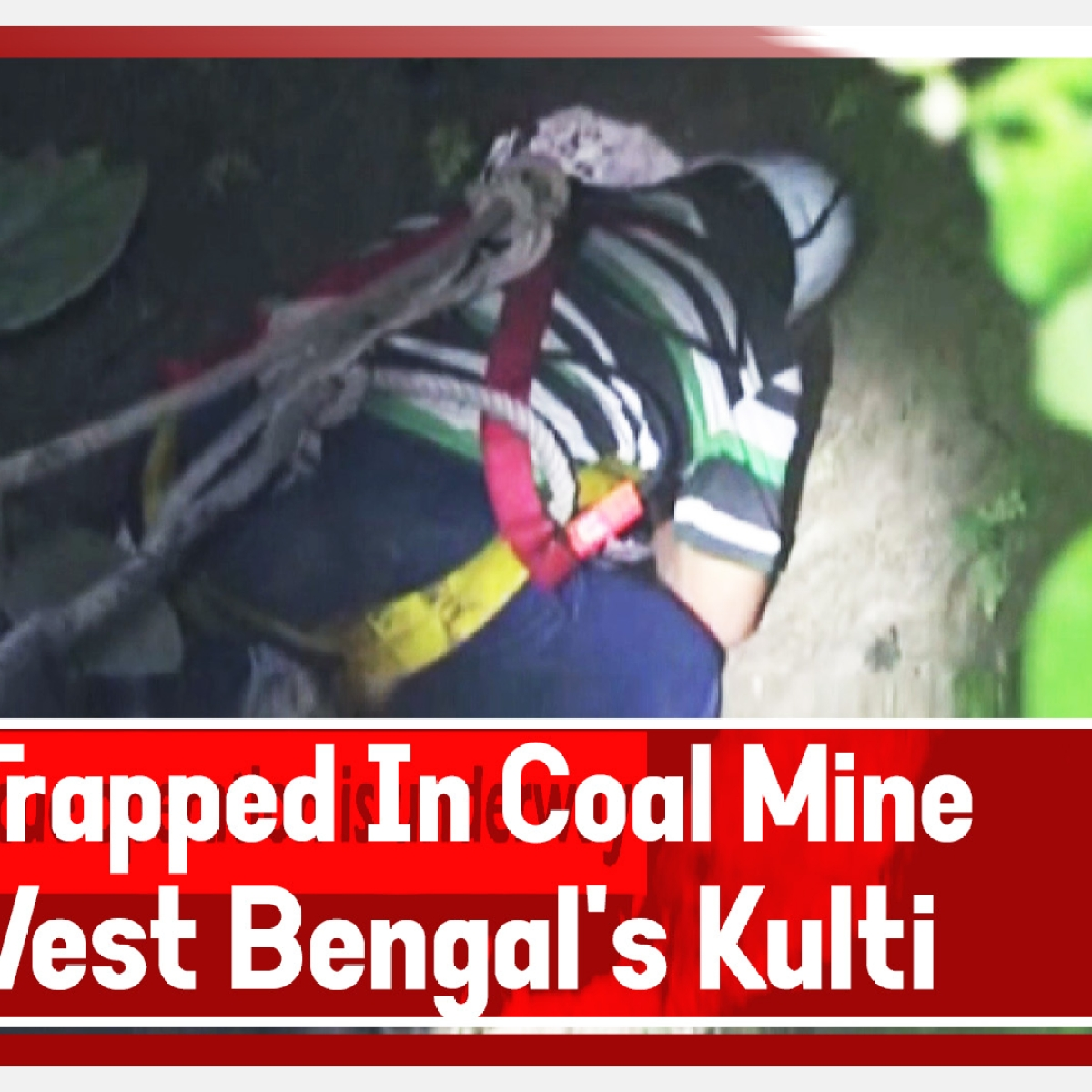 Three trapped in coal mine in West Bengal's Kulti, rescue operation underway