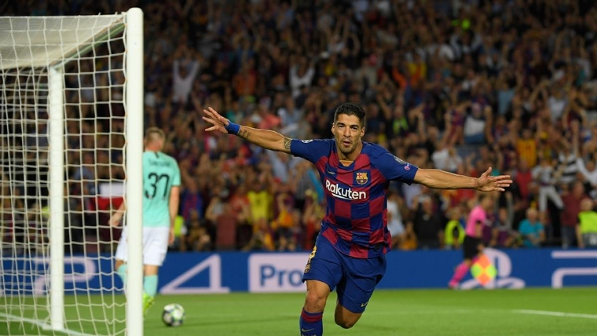 UEFA Champions League, Barcelona vs Inter Milan: Luis Suarez's brace helps Barcelona edge past Inter Milan