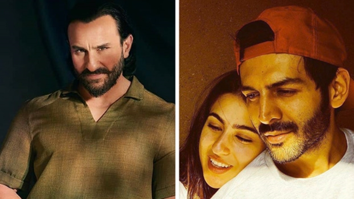 Saif finally comments on Sara and Kartik's relationship, says 'if she has chosen him, then he must be nice'