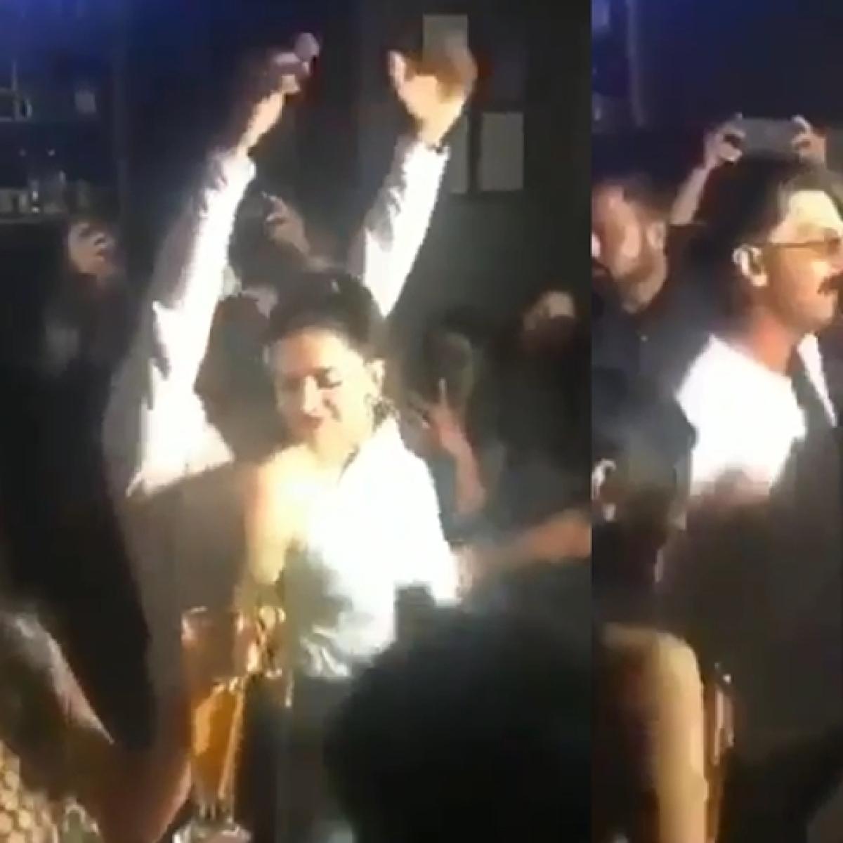 Watch Ranveer, Deepika drop it like it's hot at '83' wrap-up party