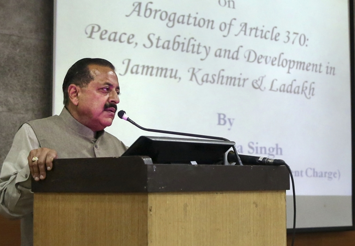 'Why so intolerant?': Twitter reacts to JNU students opposing Jitendra Singh's event on Article 370
