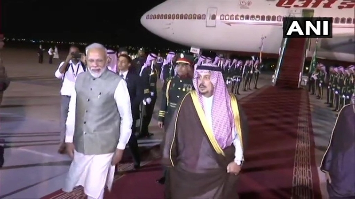 PM Modi arrives in Saudi Arabia; to attend key economic forum, hold bilateral talks with King