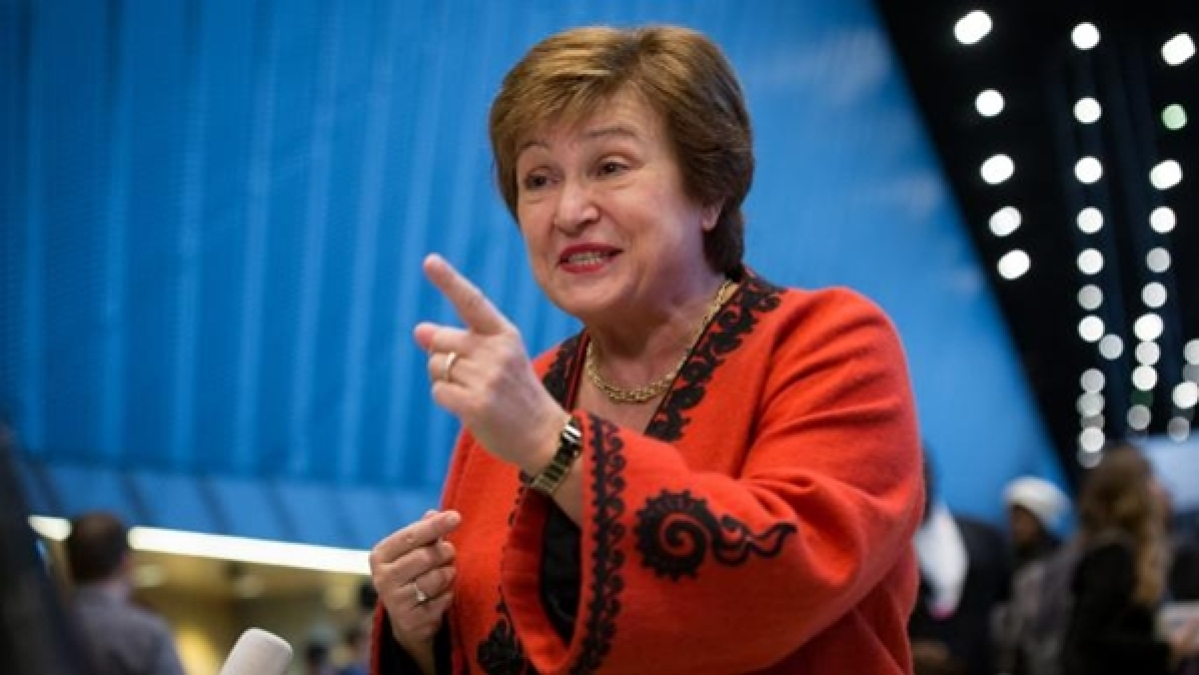 '...but it's not a recession': IMF MD Kristalina Georgieva on slowdown in Indian economy