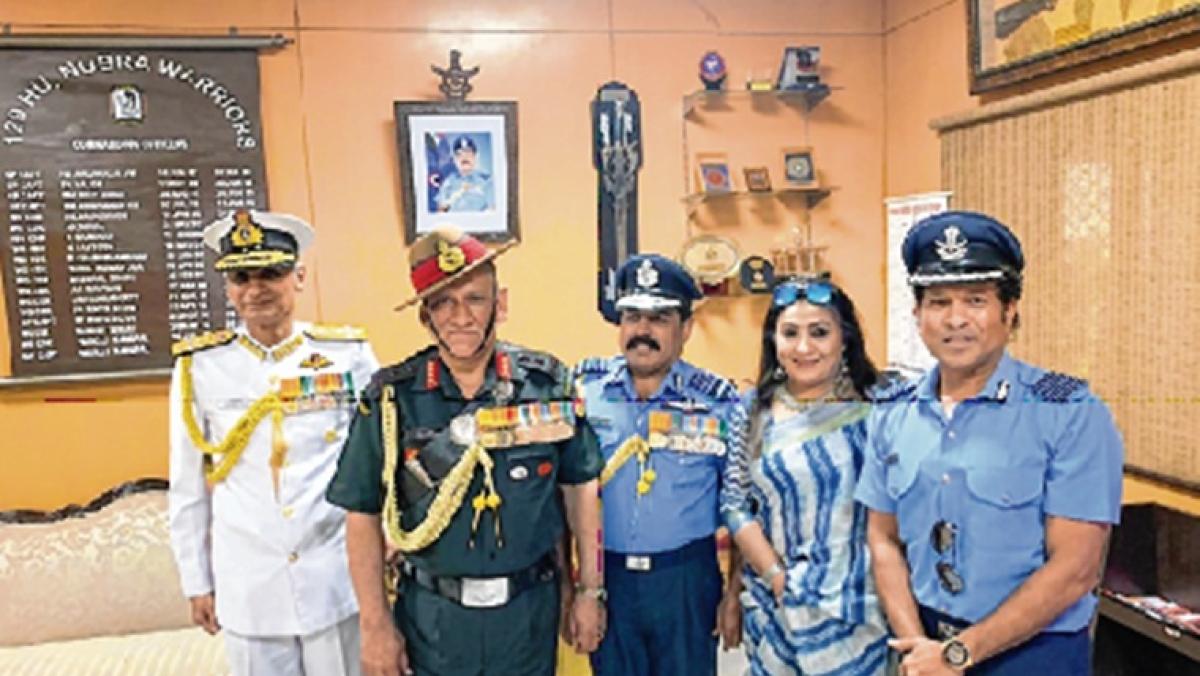 Sachin gets goosebumps seeing Abhinandan lead the flying parade