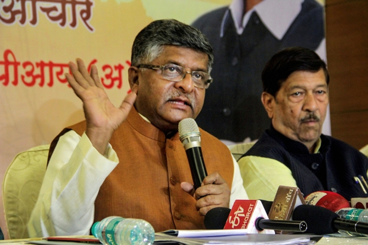 Govt ready to talk to Shaheen Bagh protesters but in a structured form: Ravi Shankar Prasad