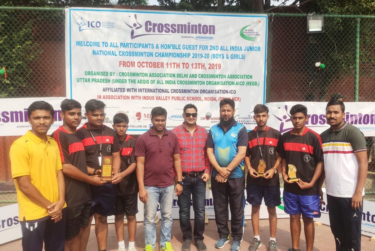 Dewas: 5 boys represent MP crossminton team
