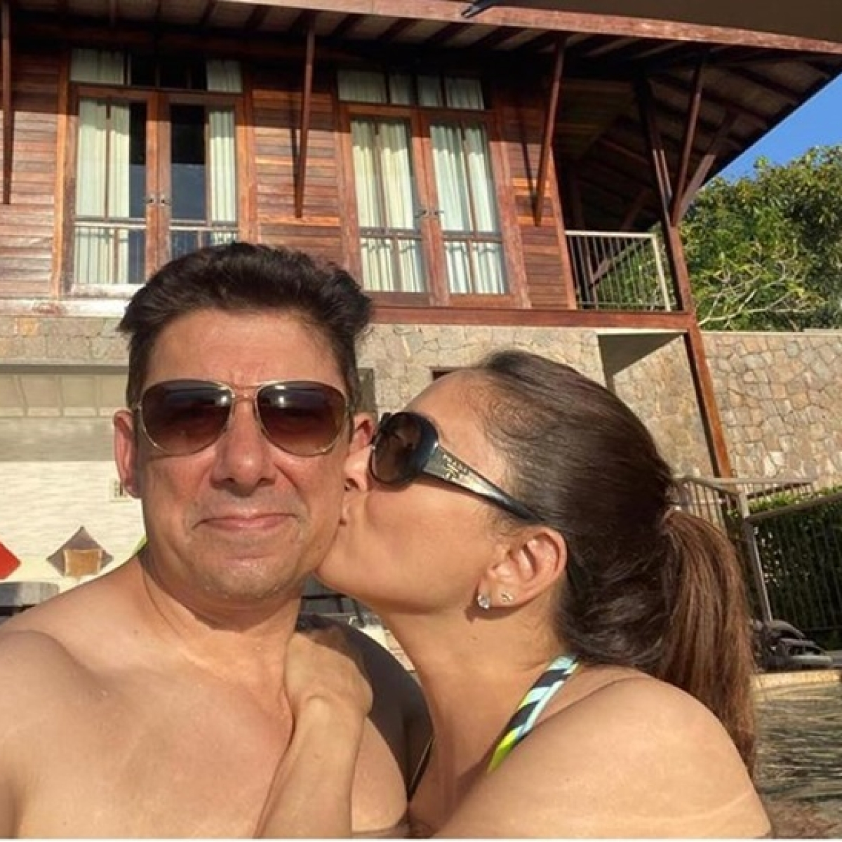 Madhuri Dixit and Dr. Sriram Nene are giving us serious couple goals with their vacay pics