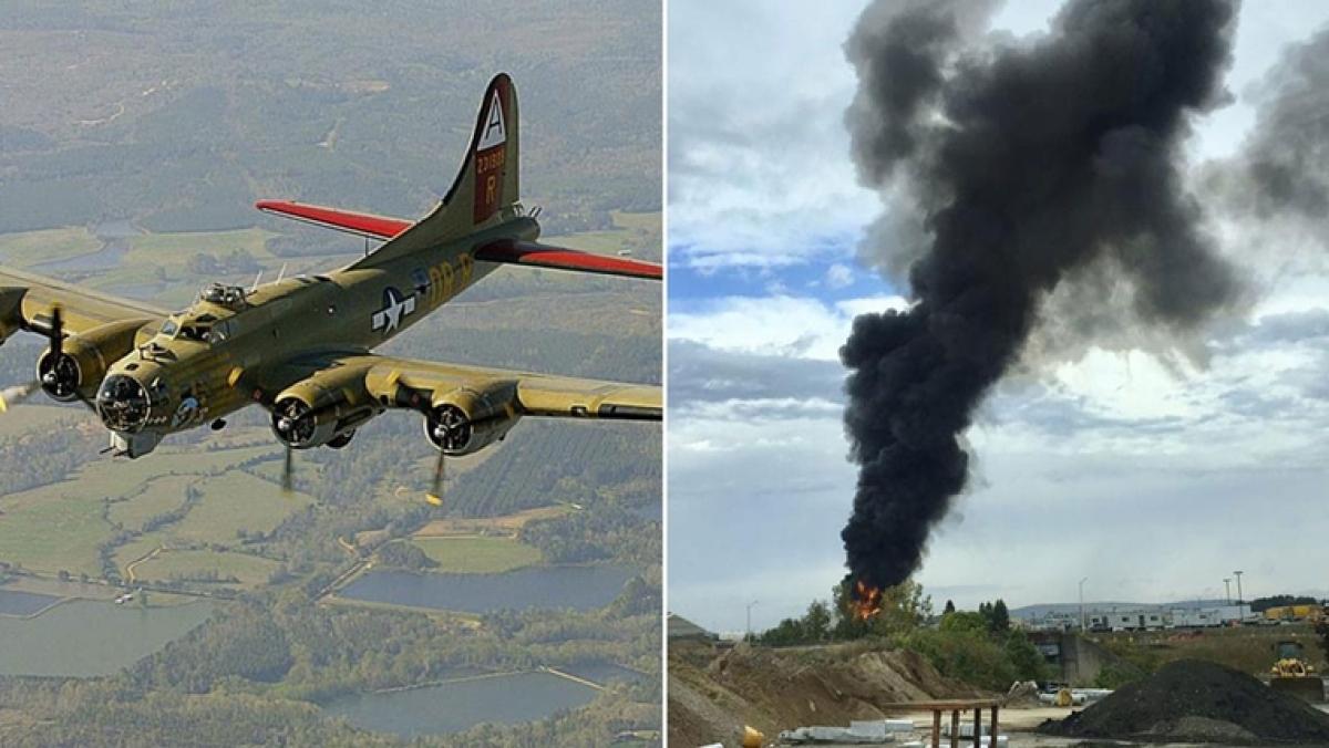 World War II-era plane crashes in United States; 7 dead