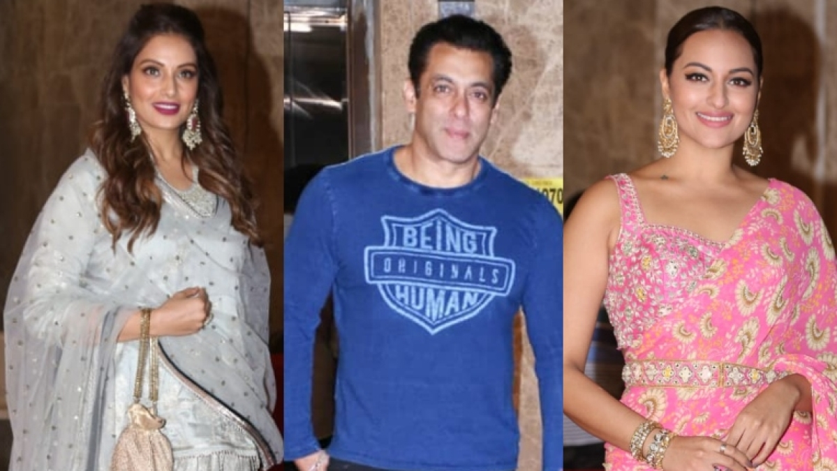 Salman Khan, Sonakshi Sinha and other B-town celebs attend Ramesh Taurani's Diwali bash